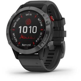 Garmin Fenix 6 Pro Solar GPS Smartwatch black/slate grey